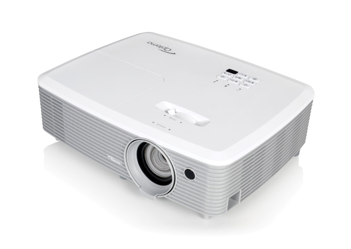 Optoma projektor W400+ (DLP, FULL 3D, FULL HD, WXGA, 4 000 ANSI, 22 000:1, 2xHDMI and MHL, 2xVGA, USB, RS232)