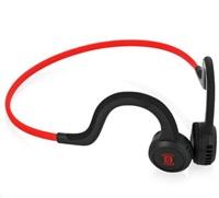 AfterShokz Sportz Titanium, sportovní sluchátka před uši, červená