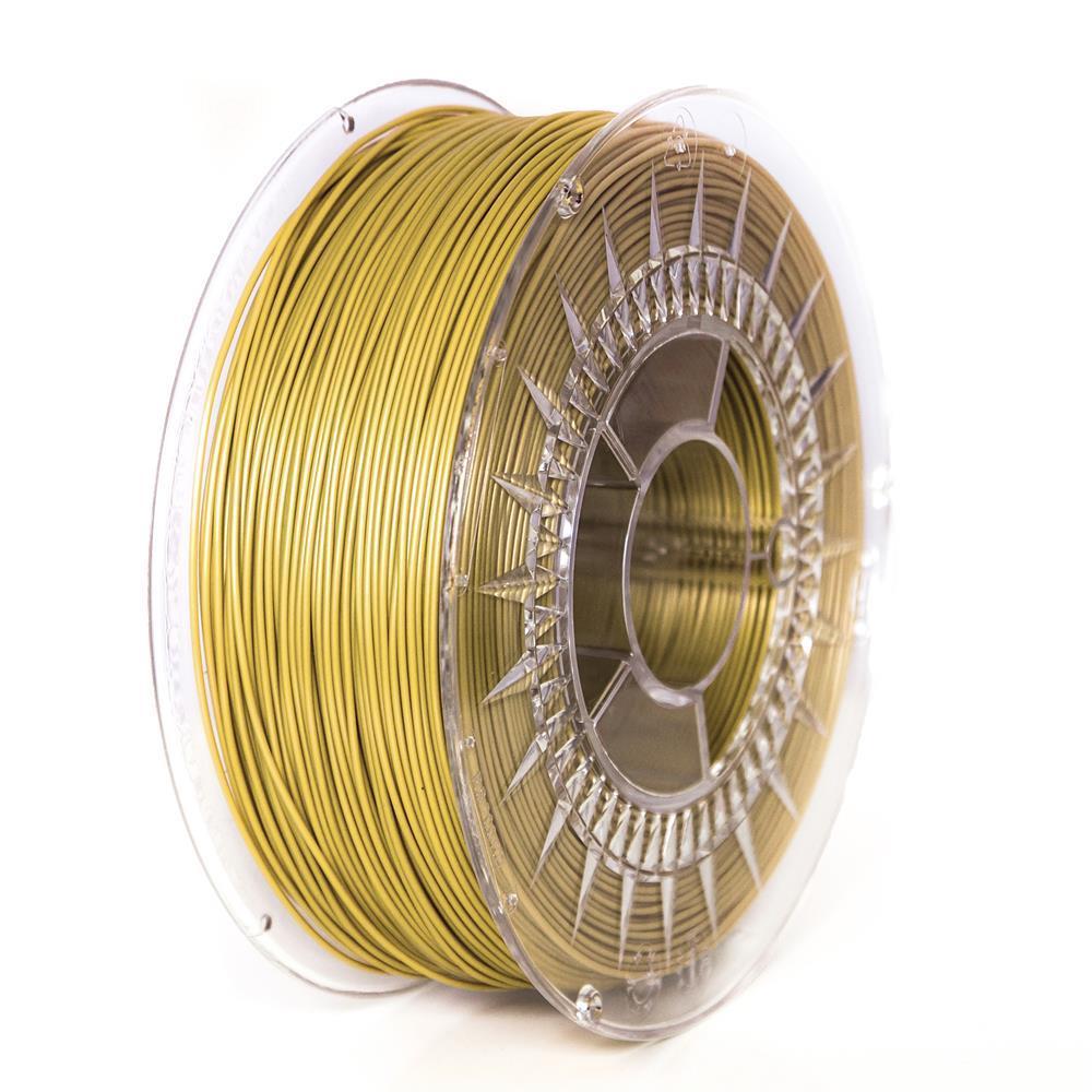 Filament DEVIL DESIGN / PLA / GOLD / 1,75 mm / 1 kg.
