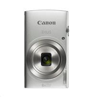 "Canon IXUS 185 SILVER - 20MP, 8x zoom, 28-224mm, 2,7"" + neoprén. pouzdro"