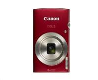 "Canon IXUS 185 RED - 20MP, 8x zoom, 28-224mm, 2,7"" + neoprén. pouzdro"