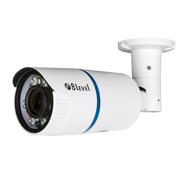 8level outdoor 1MP AHD camera AHB-E720-VF4-1 BNC IP66 2.8-12mm 1MP