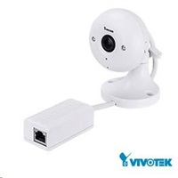 Vivotek IP8160, 2Mpix, 30sn/s, obj. 2.8mm (113°), audio, Mic in vč.potlačení ozvěny, Smart IR 8m, PoE, MicroSDXC,vnitřní