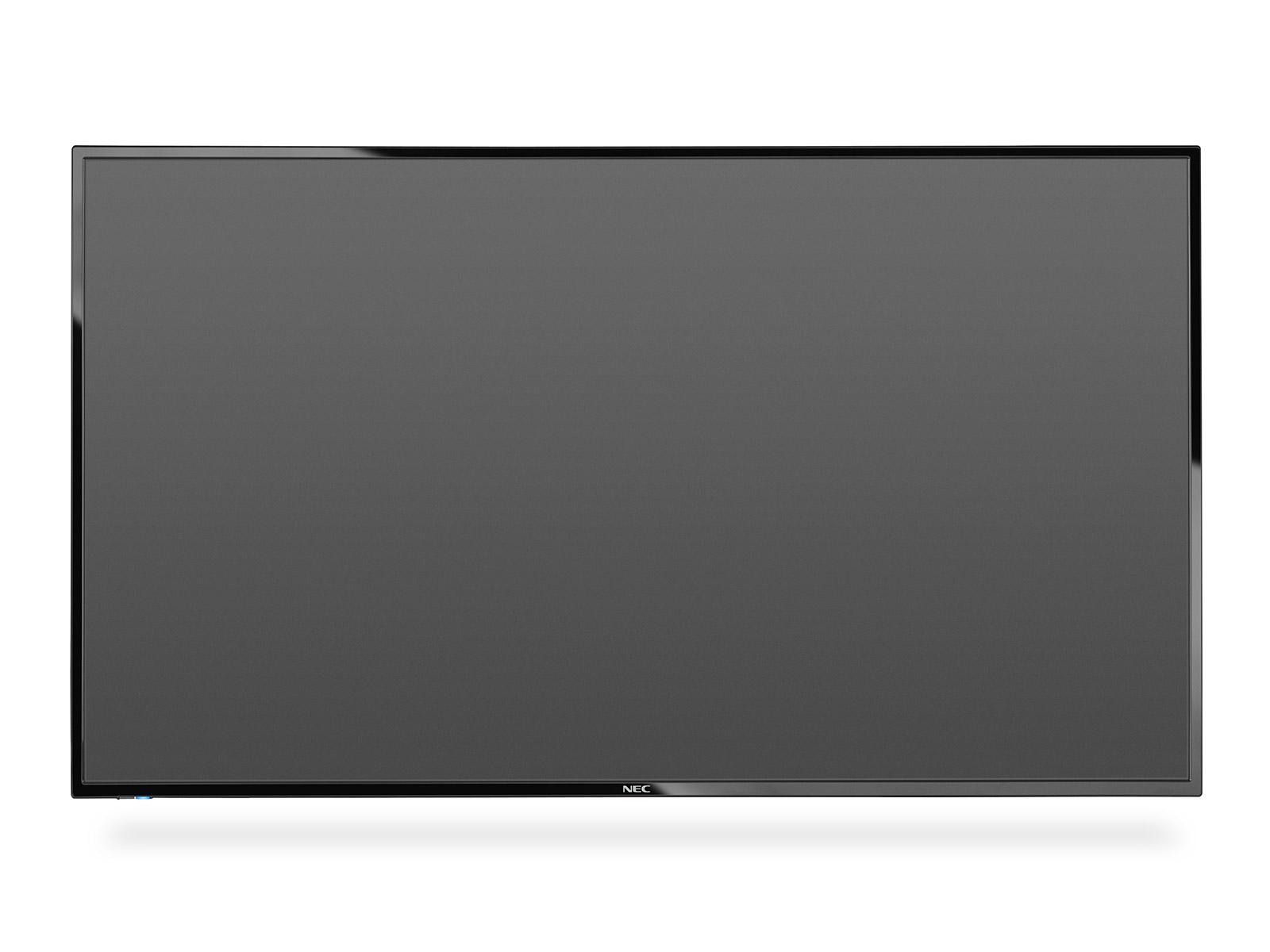 """NEC 55"""" velkoformátový display E556 - 12/7, 1920x1080, 350cd, media player, bez stojanu"""