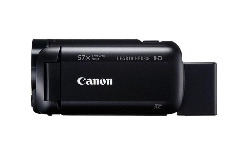 Canon Legria HF R806 kamera, Full HD, 57x zoom - černá