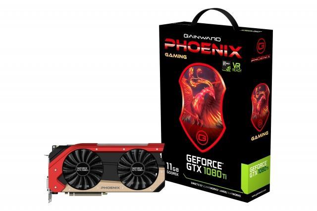 Gainward GeForce GTX 1080 Ti PHOENIX 11G GDDR5X 352B DVI HDMI DP*3
