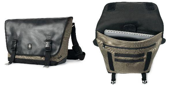 Crumpler Muli Messenger M - black tarpaulin / khaki
