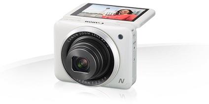 """Canon PowerShot N2 - 16 MP, 8x zoom , 28-224mm, výklopný 2,8"""" LCD"""
