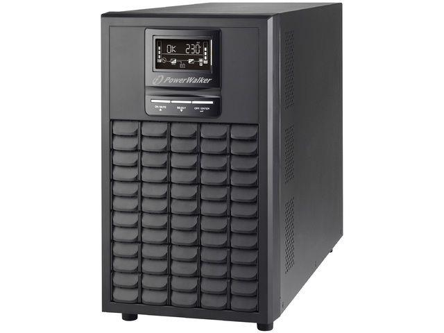 Power Walker UPS On-Line 1/1 Phase 3000VA,CG,PF1 USB/RS-232,8x c13,1xC19,EPO,LCD