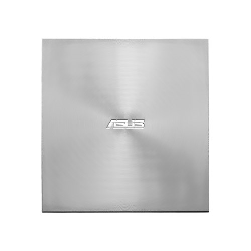 External DRW Asus SDRW-08U9M-U, USB Type-C and Type-A, Ultra-Slim, Silver