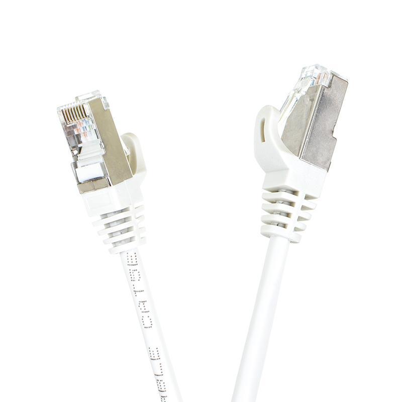 START.LAN patch kabel FTP cat.5e pozlacený 1.5m šedý