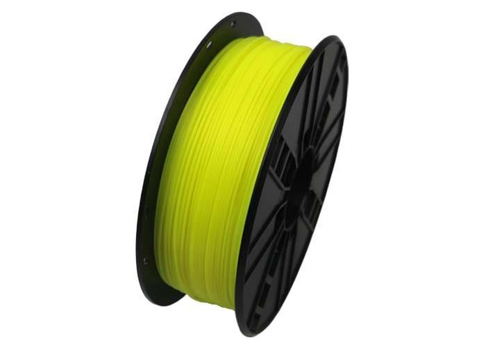 Tisková struna Gembird PLA žlutá (Fluorescent Yellow) | 1,75mm | 1kg