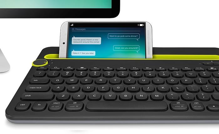 Logitech klávesnice Bluetooth Keyboard K480 US, černá