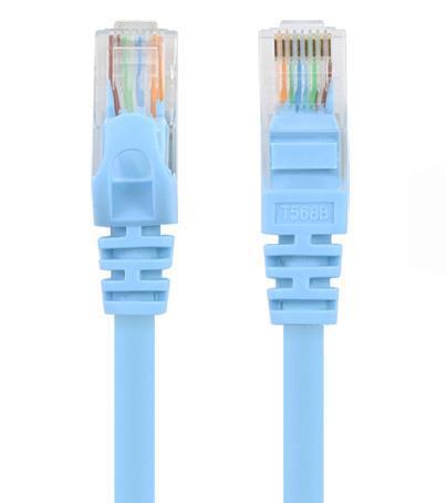 Unitek patch kabel UTP CAT.6 5m modrý