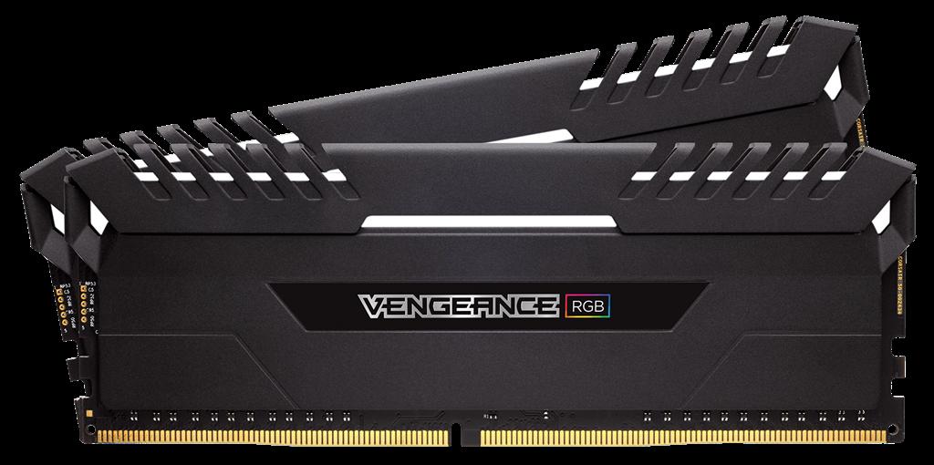 Corsair Vengeance LED RGB 16GB (2 x 8GB) DDR4 2666MHz C16