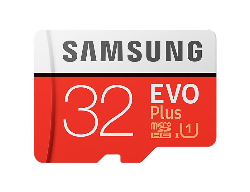 Samsung EVO+ microSDHC 32GB UHS-I U1 + adapter MB-MC32DA/EU