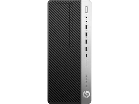 HP EliteDesk 800 G3 TWR, i7-7700, NVIDIA GeForce GTX 1080/8GB, 32GB, 256GB SSD + 1TB, DVDRW, KLV+MYS, DOS, 3y