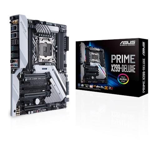 ASUS PRIME X299-DELUXE, LGA 2066, X299, 4 x DIMM DDR4 , USB 3.1