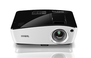 BenQ DLP Projektor MW724/WXGA/3700ANSI/13000:1/HDMI/3D/1x10W repro