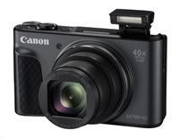 Canon PowerShot SX730 HS, 20.3Mpix, 40x zoom - černý - Travel kit