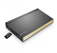 REMAX PowerBank 10000 mAh, Re POWER Memory, zlatá barva - Podpora čtení paměťové karty microSD
