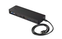 Portreplicator USB-C, LIFEBOOK U7x7, E548, E558, U937, U938 s adaptérem, bez AC kabelu