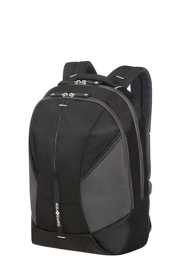 SAMSONITE 37N-09-001 Backpack S SAMSONITE 37N09001 4MATION tblt, doc. pock, keys, black/silver