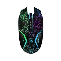 A4tech BLOODY N50 Neon herní myš, USB, až 4000DPI, černá