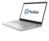 NTB HP Pavilion 14-bf007nc 14.0 BV FHD IPS WLED, Intel i7-7500U,8GB DDR4,1TB+256GB SSD,GeF GT 940MX-2GB, Win10 - silver