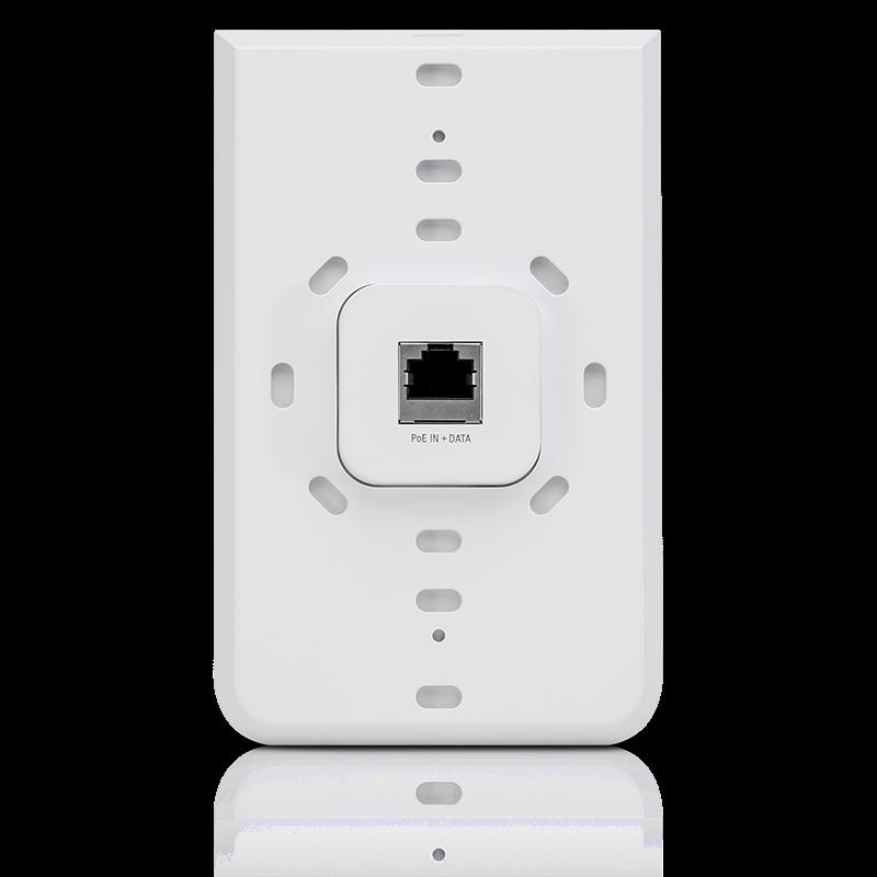 Ubiquiti UniFi In-Wall AC PRO 2.4GHz/5GHz, 802.11a/b/g/n/ac, 3xGbE, 802.3at PoE+