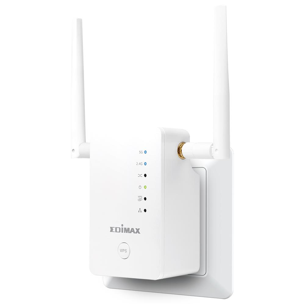 Edimax Gemini RE11S AC1200 Dual-Band Home Roaming Wi-Fi Upgrade Extender