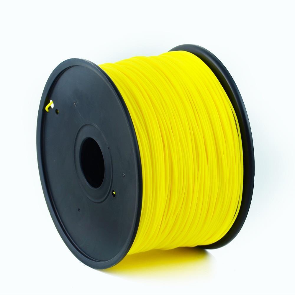 Tisková struna Gembird ABS Fluorescent Yellow | 1,75mm | 1kg