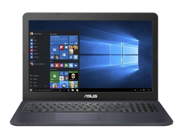 "ASUS NB E502NA - 15.6"" HD, N4200, 4GB, 128GB SSD, UMA, W10, Dark Blue"