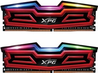 DIMM DDR4 32GB 3000MHz CL16 (KIT 4x8GB) ADATA XPG SPECTRIX D40, Red