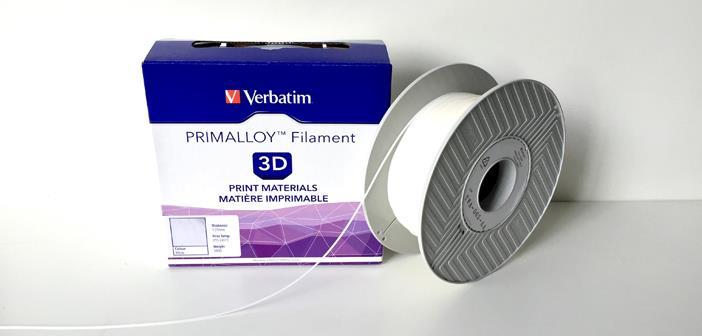 Filament VERBATIM / PRIMALLOY / White / 1,75 mm / 0,5 kg