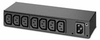 APC Rack PDU, Basic, 0U/1U, 120-240V/15A, 220-240V/10A, (8) C13, IEC-320 C14
