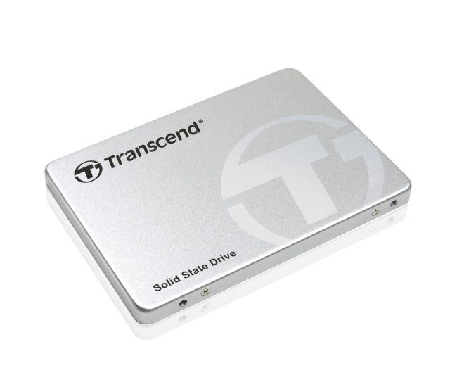 TRANSCEND SSD370S 256GB SSD disk 2.5'' SATA III 6Gb/s, MLC , Aluminium casing, 560MB/s R, 460MB/s W, stříbrný