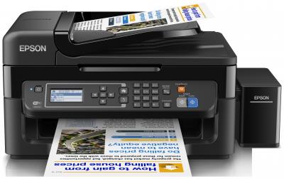 EPSON L565- A4/33-15ppm/4ink/Fax/Wi-Fi//LAN/CISS