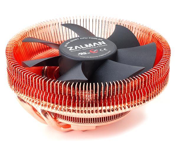 Zalman chladič CPU CNPS8900 QUIET, extrémně tichý,110mm PWM Fan, 2x heatpipe