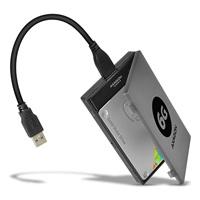 "AXAGON ADSA-1S6, USB3.0 - SATA 6G UASP HDD/SSD adaptér vč. 2.5"" pouzdra"