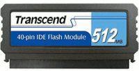 Transcend PTM520 512MB IDE FLASH modul 40pin Vertical (SLC), SMI (V)