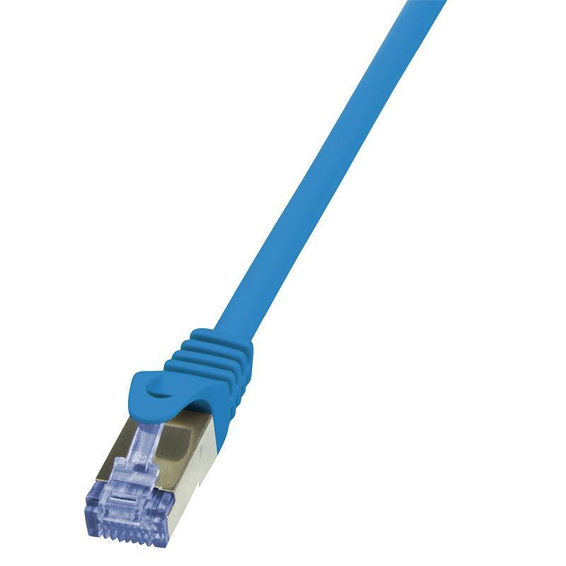 LOGILINK - Patch Cable Cat.6A 10G S/FTP PIMF PrimeLine modrý 3m