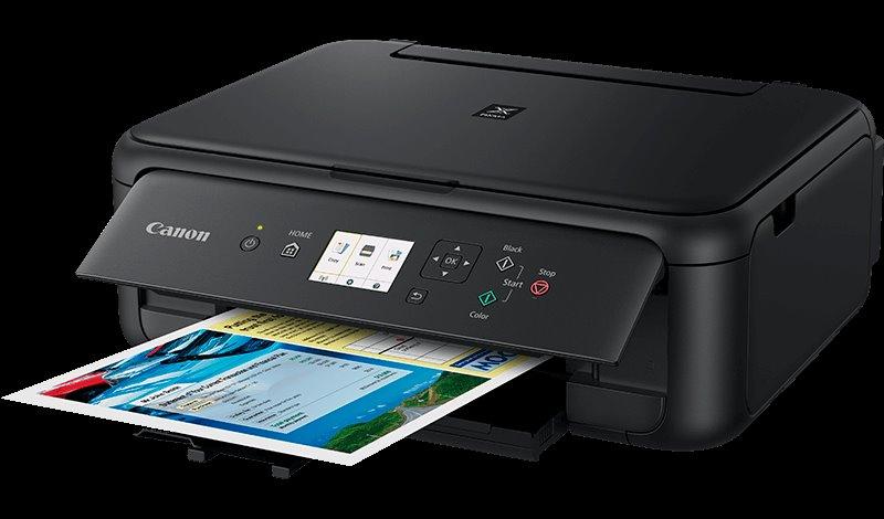 Canon PIXMA TS5150 - PSC/Wi-Fi/WiFi-Direct/BT/PictBridge/4800x1200/USB black