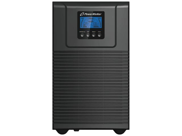 Power Walker UPS On-Line 3000VA, 4x IEC, USB/RS-232, Tower, EPO, LCD