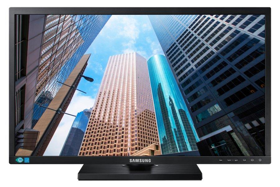 "24"" LED Samsung S24E65UXWG - Full HD,DVI,DP,pivot"