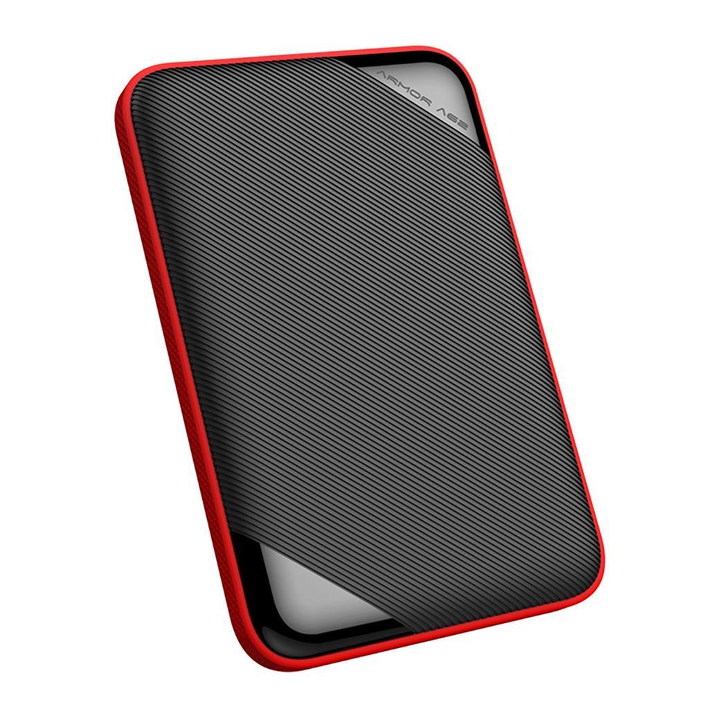 Silicon Power externí HDD Armor A62 2.5'' 2TB USB 3.1, IPX4, voděodolný, černá