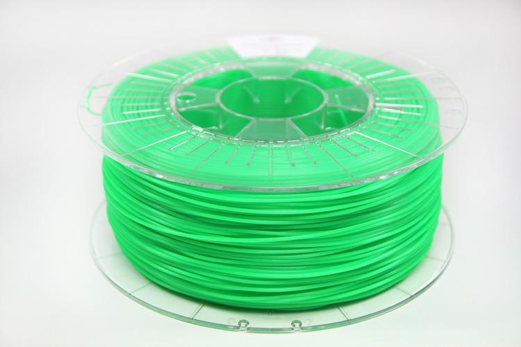 Filament SPECTRUM / PLA / FLUO GREEN/ 1,75 mm / 1 kg