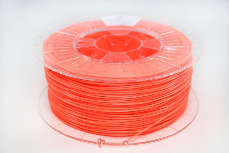 Filament SPECTRUM / PLA / FLUO ORANGE / 1,75 mm / 1 kg