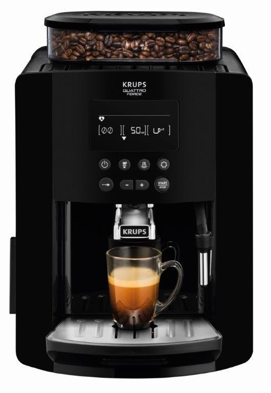 Krups EA8170 Quattro Force automatický kávovar   černý