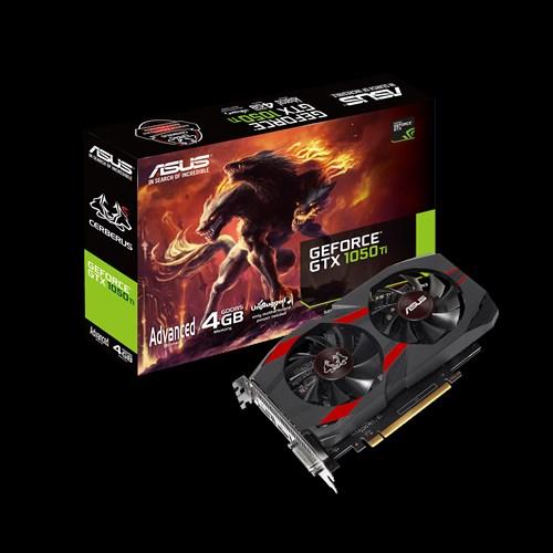 ASUS Cerberus GeForce GTX 1050 Ti ,4GB GDDR5, DP/HDMI